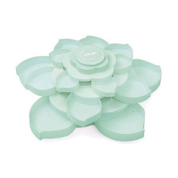 Armazenador-de-Materiais-Bloom-WER184-Bloom-Embellishment-Storage-Azul
