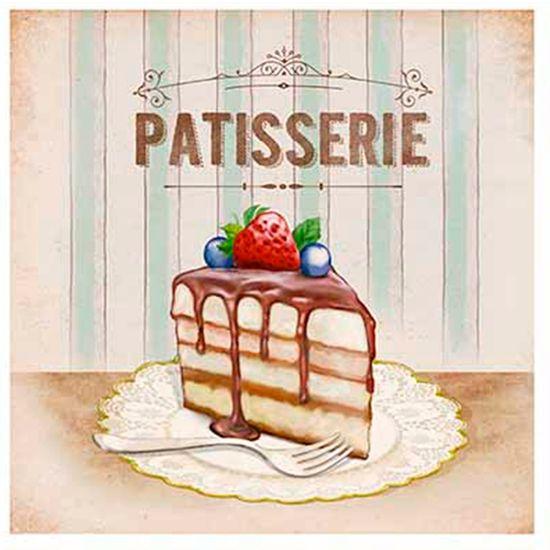 Papel-para-Arte-Francesa-Litoarte-21x21-AFQ-423-Patisserie-Fatia-Bolo