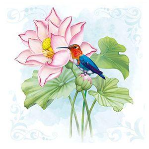 Papel-para-Arte-Francesa-Litoarte-21x21-AFQ-426-Flor-de-Lotus---Beija-Flor
