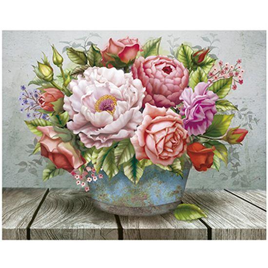 Papel-para-Arte-Francesa-Litoarte-311x211-AFM-124-Flores-no-Balde