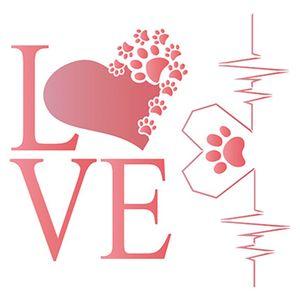 Stencil-Litoarte-20x20-STXX-108-Love-Cachorro