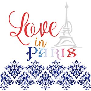 Stencil-Litoarte-20x20-STXX-109-Love-in-Paris
