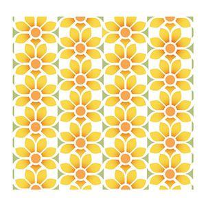 Stencil-Litoarte-20x20-STXX-116-Estampa-de-Flores