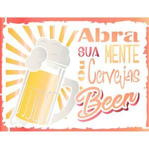 Stencil-Litoarte-20x20-STXX-135-Cervejas-Beer