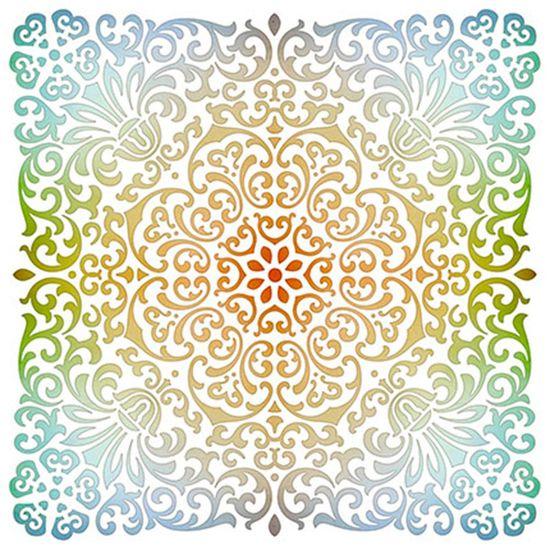 Stencil-Litoarte-20x20-STXX-128-Ornamentos-Florais