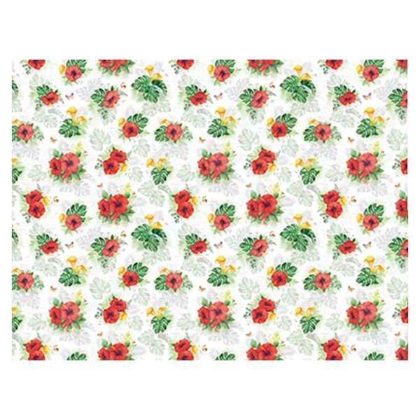 Slim-Paper-Decoupage-Litoarte-473x338-SPL-021-Tropical-Hibiscos