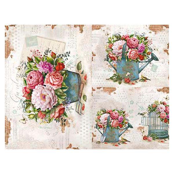 Slim-Paper-Decoupage-Litoarte-473x338-SPL-030-Flores-e-Regador