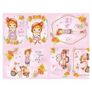 Slim-Paper-Decoupage-Litoarte-473x338-SPL-032-Menina-Teen-Lambreta