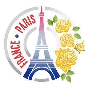 Stencil-Litoarte-25x25-STXXV-026-Selo-Torre-Eiffel-e-Rosas