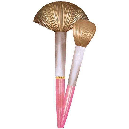 Aplique-Decoupage-Litoarte-APM8-1103-em-Papel-e-MDF-8cm-Maquiagem-Pinceis
