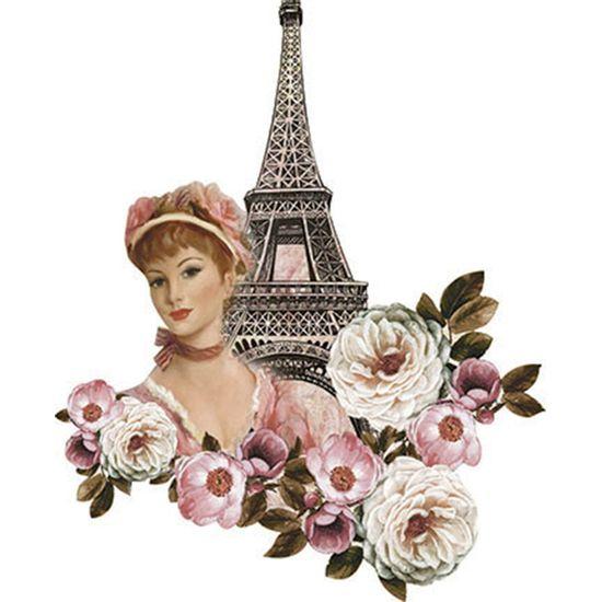 Aplique-Decoupage-Litoarte-APM8-1134-em-Papel-e-MDF-8cm-Torre-Eiffel