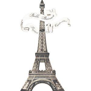 Aplique-Decoupage-Litoarte-APM8-1137-em-Papel-e-MDF-8cm-Torre-Eiffel