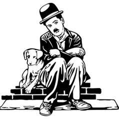 Aplique-Decoupage-Litoarte-APM8-1155-em-Papel-e-MDF-8cm-Charlie-Chaplin