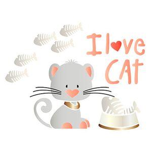 Stencil-Litoarte-25x25-STXXV-020-I-Love-Cat