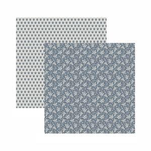 Papel-Scrapbook-Toke-e-Crie-305x305-KFSB575-Cinza-Floral