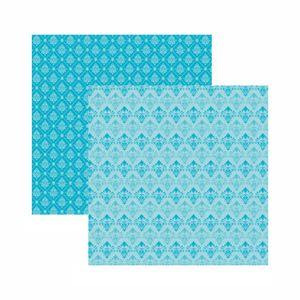 Papel-Scrapbook-Toke-e-Crie-305x305-KFSB583-Azul-Bebe-Arabesco