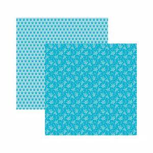 Papel-Scrapbook-Toke-e-Crie-305x305-KFSB582-Azul-Bebe-Floral