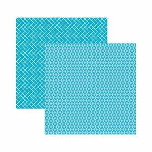 Papel-Scrapbook-Toke-e-Crie-305x305-KFSB577-Azul-Bebe-Xadrez