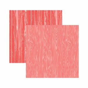 Papel-Scrapbook-Toke-e-Crie-305x305-KFSB565-Coral-Madeira