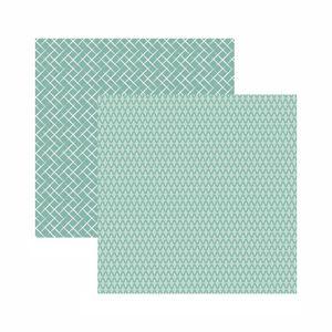 Papel-Scrapbook-Toke-e-Crie-305x305-KFSB528-Verde-Claro-Xadrez