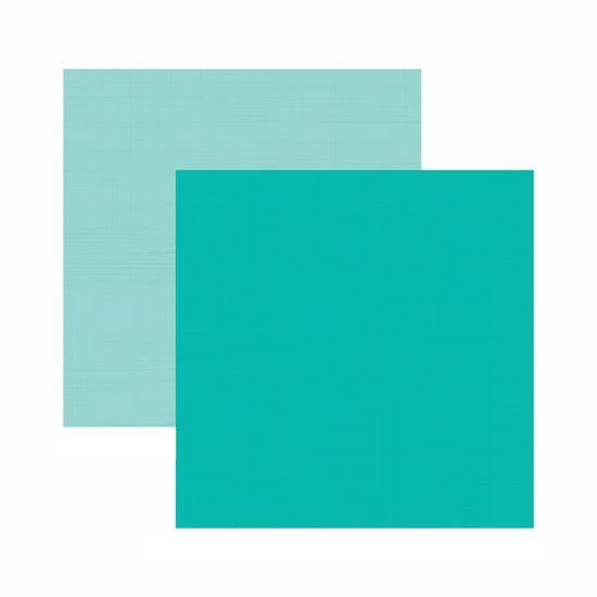 Papel-Scrapbook-Toke-e-Crie-305x305-KFSB539-Azul-Turquesa-Liso