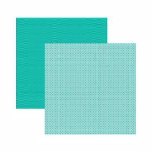 Papel-Scrapbook-Toke-e-Crie-305x305-KFSB536-Azul-Turquesa-Mini-Poa