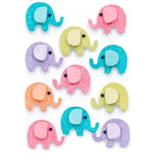 Adesivos-Feito-a-Mao-com-Glitter-Mini-Toke-e-Crie-AD1936-Elefantinhos