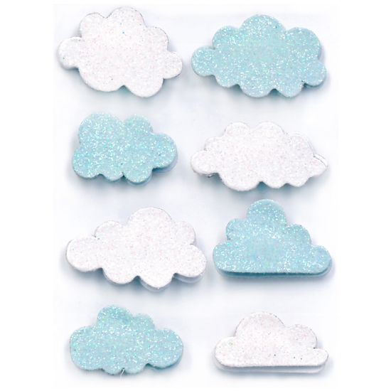 Adesivos-Feito-a-Mao-com-Glitter-Mini-Toke-e-Crie-AD1941-Nuvens