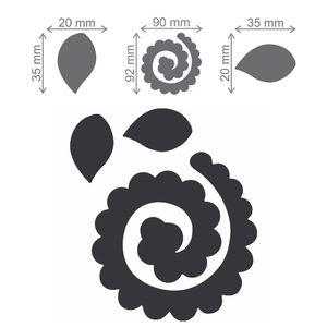 Faca-de-Corte-Supreme-Elegance-Toke-e-Crie-FCS001-Flor-Espiral