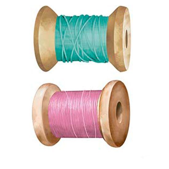 Aplique-Decoupage-Litoarte-APM4-372-em-Papel-e-MDF-4cm-Carretel-Verde-e-Rosa