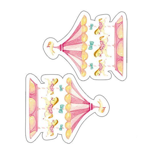 Aplique-Decoupage-Litoarte-APM4-374-em-Papel-e-MDF-4cm-Carrossel