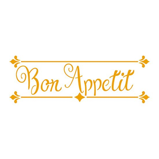 Stencil-Litoarte-17x65-STP-153-Bon-Appetit