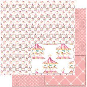 Papel-Scrapbook-Litoarte-305x305-SD-923-Estampa-de-Carrossel