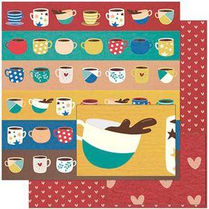 Papel-Scrapbook-Litoarte-305x305-SD-925-Xicaras-Coloridas
