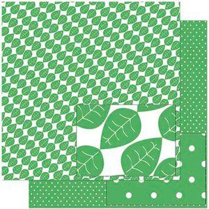Papel-Scrapbook-Litoarte-305x305-SD-933-Estampa-de-Folhas