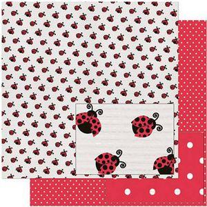 Papel-Scrapbook-Litoarte-305x305-SD-935-Estampa-de-Joaninhas