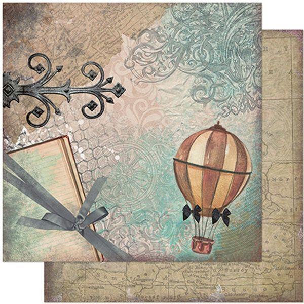 Papel-Scrapbook-Litoarte-305x305-SD-940-Balao-e-Arabescos