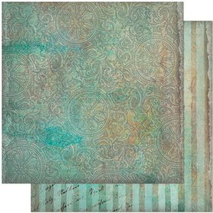 Papel-Scrapbook-Litoarte-305x305-SD-943-Arabescos-Verde-Vintage