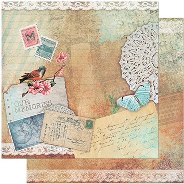 Papel-Scrapbook-Litoarte-305x305-SD-945-Passaro-Postais-e-Renda