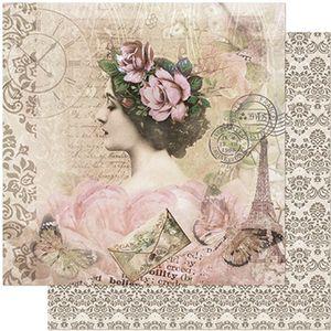 Papel-Scrapbook-Litoarte-305x305-SD-947-Mulher-com-Flores-na-Cabeca
