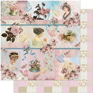 Papel-Scrapbook-Litoarte-305x305-SD-965-Damas-Joias-e-Flores
