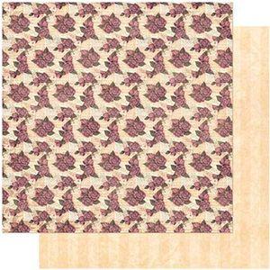 Papel-Scrapbook-Litoarte-305x305-SD-984-Padrao-Rosas-e-Cartas