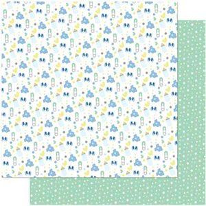 Papel-Scrapbook-Litoarte-305x305-SD-987-Joaninha-Mamadeira-Sapatinho-Masculino