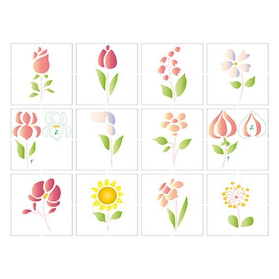 Stencil-Litoarte-25x20-STR-090-Miniatura-Flores