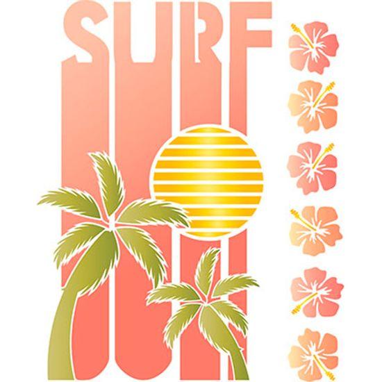 Stencil-Litoarte-25x20-STR-128-Surf-Palmeiras