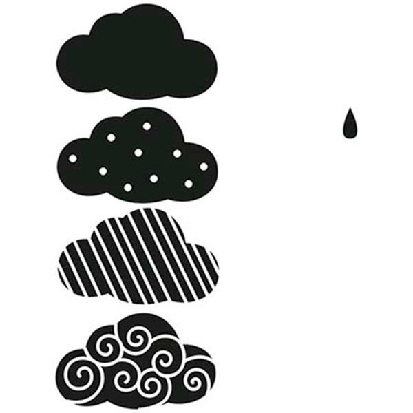 Carimbo-de-Borracha-Litoarte-CLP-145-Nuvens