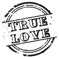 Carimbo-de-Borracha-Litoarte-CLP-161-Selo-True-Love