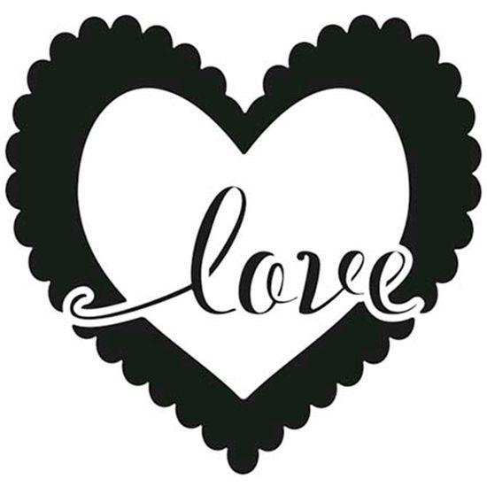 Carimbo-de-Borracha-Litoarte-CLP-168-Coracao-Love