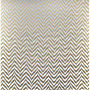 Papel-Scrapbook-Litocart-305x305-LSCPL-024-Perolizado-Chevron-Ouro