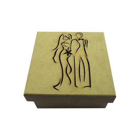 Caixa-Tampa-de-Sapato-Noivos-Elegante-em-MDF-12x12x55cm---Palacio-da-Arte
